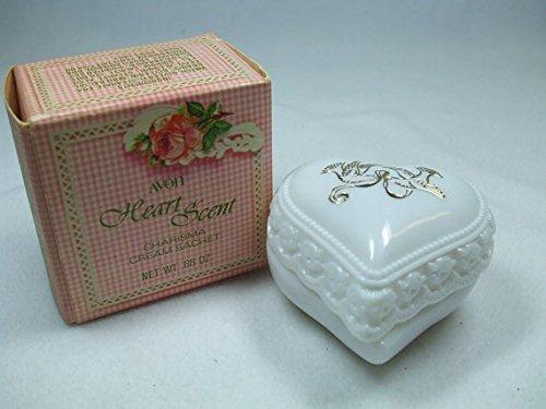 Vintage Avon Heart Scent Charisma Cream Sachet NET WT.66 OZ