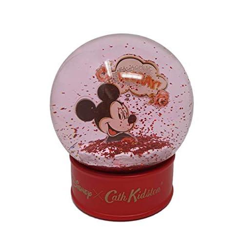 41c38G3diVL. SS500 Bola de nieve Cath Kidston Disney edición limitada con Mickey Mouse Base roja con la marca Cath Kidston Disney. Interior con purpurina roja con Mickey Mouse.