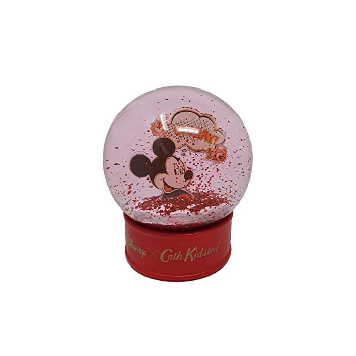 41c38G3diVL Bola de nieve Cath Kidston Disney edición limitada con Mickey Mouse Base roja con la marca Cath Kidston Disney. Interior con purpurina roja con Mickey Mouse.