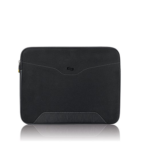 SOLO CQR Collection CheckFast Airport Security-Friendly Laptop Sleeve for Notebook Computers up to 16 Inches, Black, CQR103-4