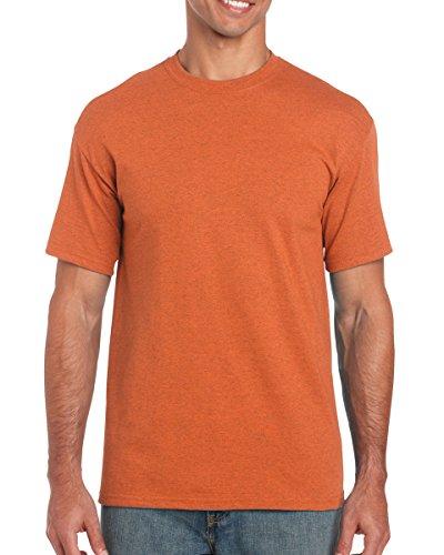 Gildan Heavy Cotton 5.3 oz. T-Shirt, Medium, Antique Orange