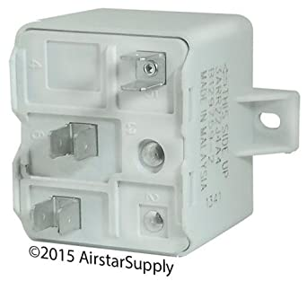 Trane RLY03210 / RLY-3210 - OEM Start Relay: SPST , 50A Coil , 239V Pick Up  / 135V Drop Out