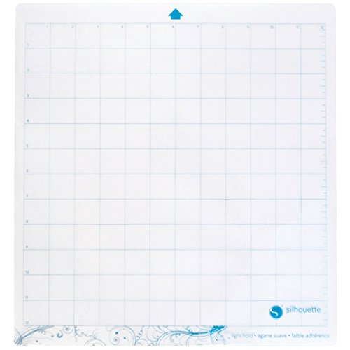 - Silhouette CAMEO Light Hold Cutting Mat for Scrapbooking