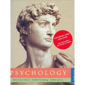 9780393977684: psychology henry gleitman, 4th.