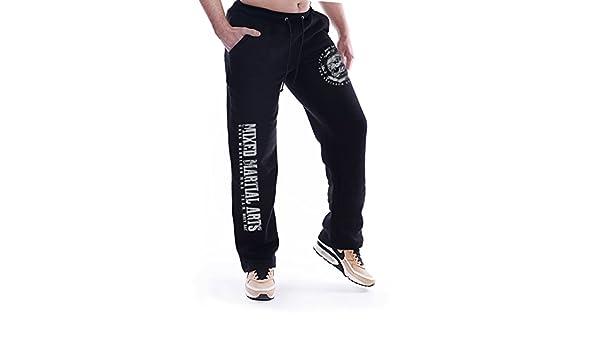 Dirty Ray Artes Marciales MMA Valetudo pantal/ón de ch/ándal hombre con bajo el/ástico SDVT1S