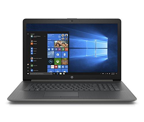 HP 17-inch Laptop, AMD A9-9425 Processor, 4 GB RAM, 500 GB Hard Drive, Windows 10 Home (17-ca0010nr, Gray)