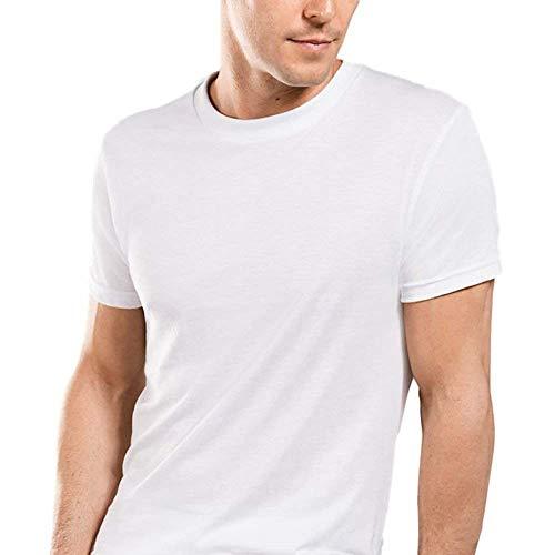 Stafford Crew Neck White 3-Pack 100% Cotton - Underwear Stafford Mens