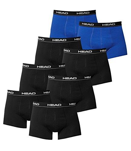 black 2p Schwarz boxer 2x De Basic Para 6x Hombre Head 2 Calzoncillos Boxer Blue Pack f6wqWFa