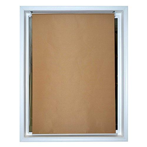 ALEKO 8 x 6 Roll Up Shade Windscreen Sunshade Blinds Sand...