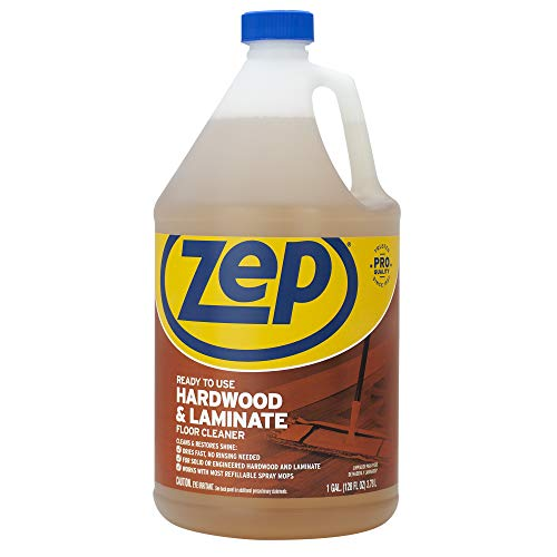 Zep ZPEZUHLF128 ZUHLF128 Hardwood and Laminate Cleaner, 128 oz.