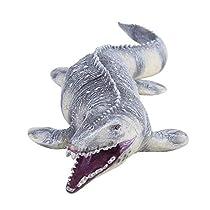Cabeza de Dinosaurio Suave Marioneta de Mano para Niños Infantiles Juego de Roles Interesante Guante de Juguete Figura de Dinosaurio Socialme-EU (Tiranosaurio Rex)