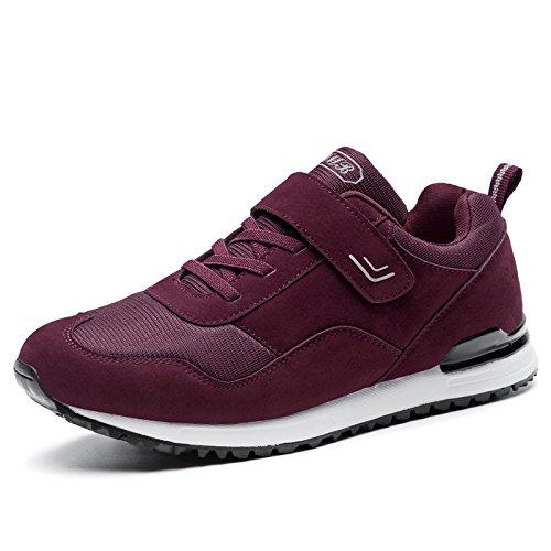 Hasag Zapatillas Antideslizantes Femeninas de Primavera y Verano Zapatos de Madre de Fondo Suave Zapatos de Viaje de Ocio Zapatos Netos Transpirables A1 red dates