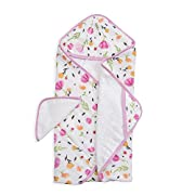 Little Unicorn Cotton Hooded Towel &Washcloth Set - Berry & Bloom