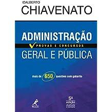 Administração geral e pública: provas e concursos