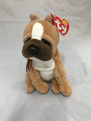 TY CARGO the DOG 2.0 BEANIE BABY - MINT with MINT TAGS - UNU