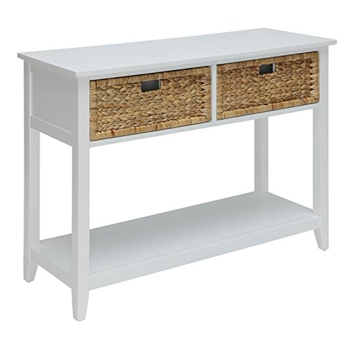 ACME Flavius White Console Table