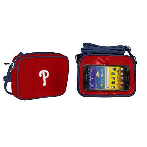 Baseball Philadelphia Charm Phillies (MLB Philadelphia Phillies Crossbody Touch - by Little Earth)