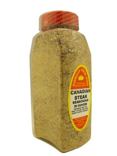 Marshalls Creek Spices Seasoning, Canadian Steak, XL Size, 30 Ounce (Canadian Steak)