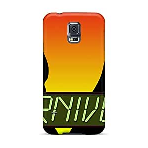 CristinaKlengenberg Samsung Galaxy S5 Shockproof Hard Phone Case Provide Private Custom High Resolution Red Hot Chili Peppers Image [wDy17784QjPs]