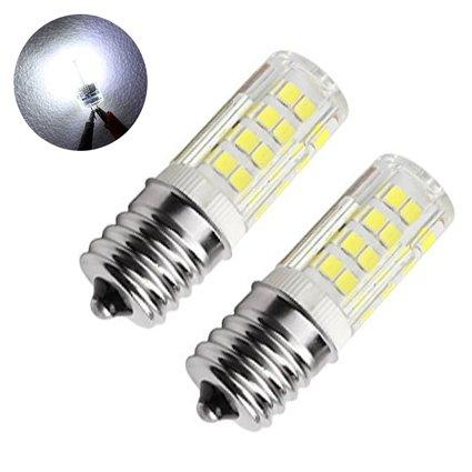 feiji E17 LED luz bombilla horno de microondas, 4 W, luz blanca 6000 K