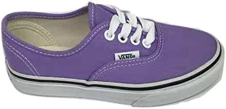 fc025b3808 Vans Authentic Kids Skateboarding Shoes-Bougainvillea truewhite- Size 11.5