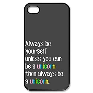 Unicorn Quote CUSTOM Case Cover for iPhone 4,4S LMc-39957 at LaiMc