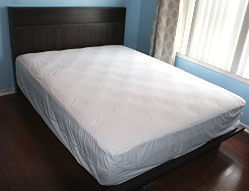 King Mattress Protector Bedbug Waterproof Zippered