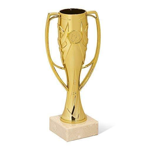 tecnocoppe Tris Coppe economiche h 24,00 22,00 20,00 cm Oro Argento Bronzo Premiazioni Sportive Targhetta Personalizzata Omaggio
