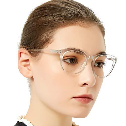 MARE AZZURO Reading Glasses Women Round Reader 0 1 1.25 1.5 1.75 2 2.25 2.5 to 6