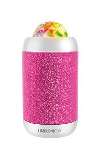 LiMiTeD Too LBT505PK Light Show Party Bluetooth Wireless Speaker with Lights Dance To The Music, Pink