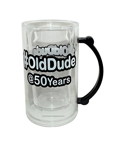 50th birthday beer mug - 5