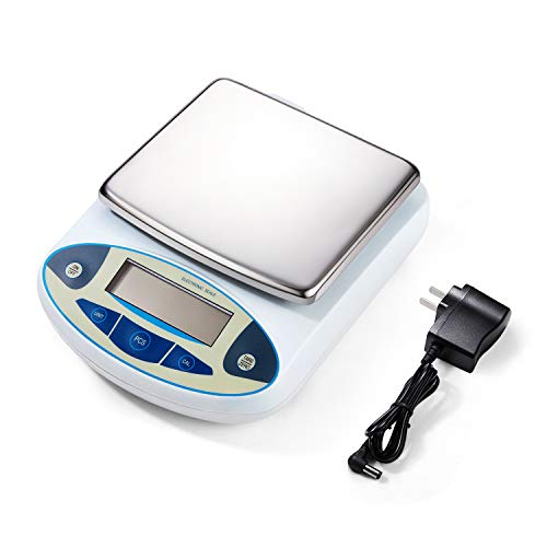0.01 Gram Digital Lab Scale Analytical Balance Precision Scientific Laboratory Scale for Lab Chemical, 5000 Gram Lab Scale
