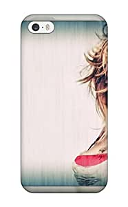 Christmas Gifts 7406561K12256616 High Grade Flexible Tpu Case For Iphone 5/5s - Scarlett Johansson