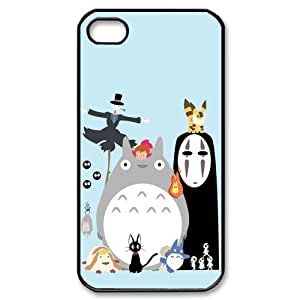 My Neighbor Totoro theme pattern design For Apple iPhone 4,4S Phone Case
