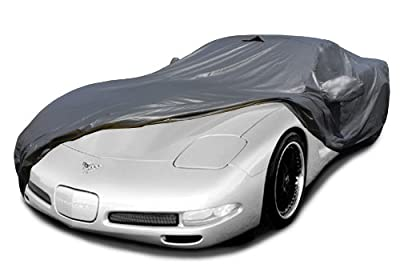 CarsCover Custom Fit C5 1996-2004 Corvette Car Cover Ironshield Leatherette All Weatherproof Waterproof 100% Block Sun, Rain, Dust