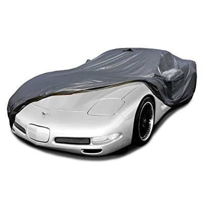 CarsCover Custom Fit C5 1996-2004 Corvette Car Cover Ironshield Leatherette All Weatherproof Waterproof 100% Block Sun, Rain, Dust: Automotive