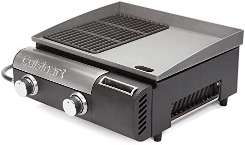 Amazon.com: Cuisinart Gourmet Two Burner Gas Griddler in ...