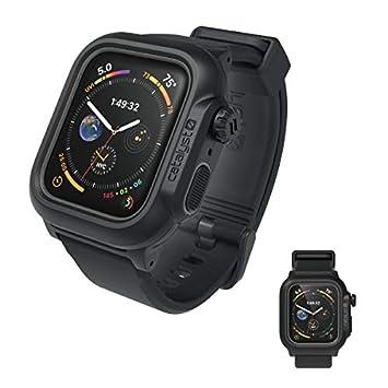 b33ca475b1 カタリスト Apple Watch Series 4 44mm 完全防水ケース ブラック CT-WPAW1844-BK
