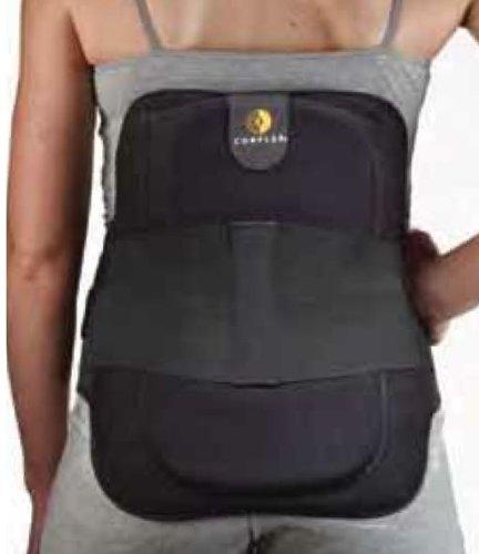 Corflex Disc Unloader LSO Back Brace - Back Pain Brace-M-6'' Anterior Panel - Black