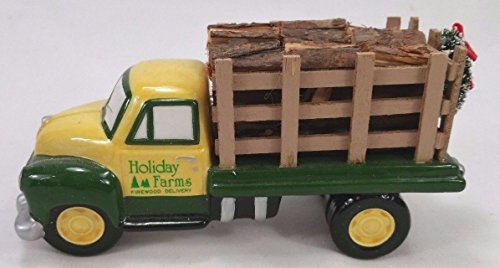 The Original Snow Village Firewood Delivery Truck by Department 56
