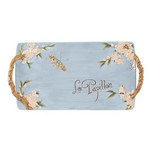 Toulouse Collection, Serving Tray, Blue ()
