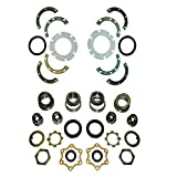 SUZUKI SJ410 SJ413 FRONT AXLE & KING PIN WHEEL BEARING SWIVEL HUB KNUCKLE OIL SEAL REBUILD REPAIR RECO KIT SAMURAI JIMNY SIERRA CARIBIAN STOCKMAN UTE DROVER GYPSY 09265-15002 0926-41001