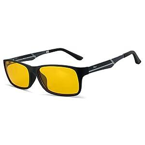 Glasses for video games Duco 223 PRO Anti-glare protection anti-fatigue anti UV - Blue light blocking glasses for smartphone screens, computer or tv
