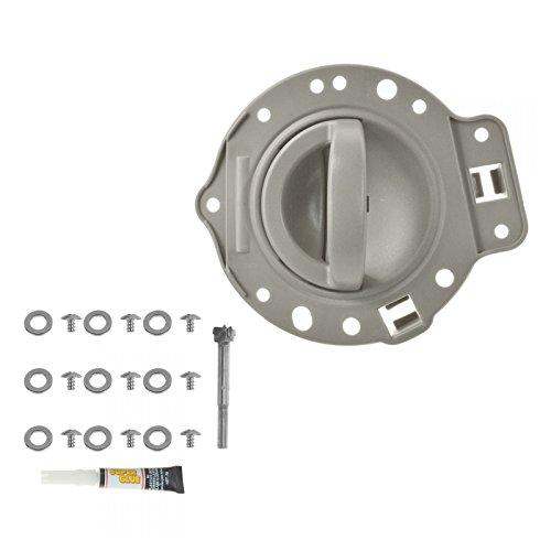 Door Handle & Bezel Repair Kit Khaki Front or Rear Driver LH for 06-10 Commander
