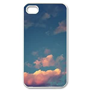 Custom New Cover Case for iPhone 6 4.7, Sunset Cloud Phone Case - HL-696610