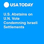 U.S. Abstains on U.N. Vote Condemning Israeli Settlements | Doug Stanglin