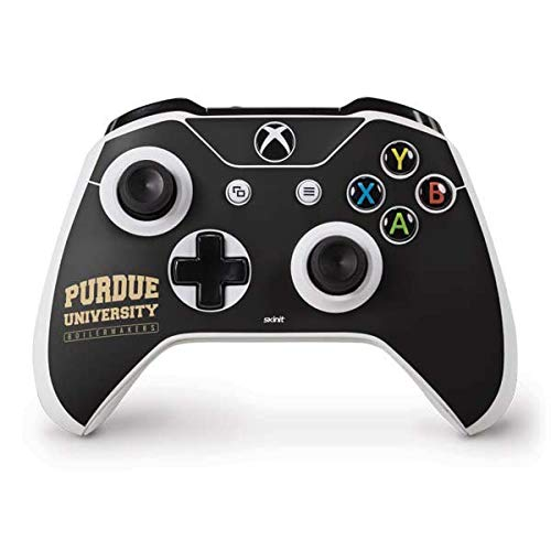 Skinit Purdue University Boilermakers Bold Xbox One S Controller Skin - Officially Licensed Learfield Collegiate Gaming Decal - Ultra Thin, Lightweight Vinyl Decal Protection ()