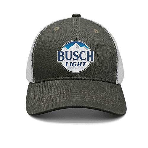 NIANLJHDe Unisex Womens Busch-Light-Beer-Sign- Adult All Cotton Casual Profile Hat