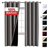 Flamingo P 100% Blackout Curtains for Bedroom