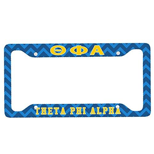 Theta Phi Alpha Custom License Plate - Fram Alpha